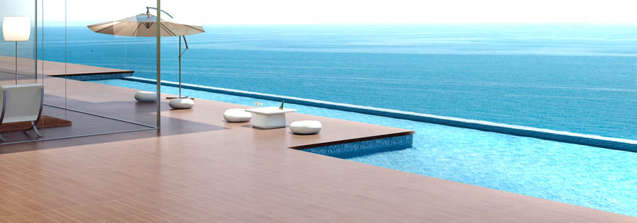 Enjoy the ultimate swimming pool experience with a salt water pool.